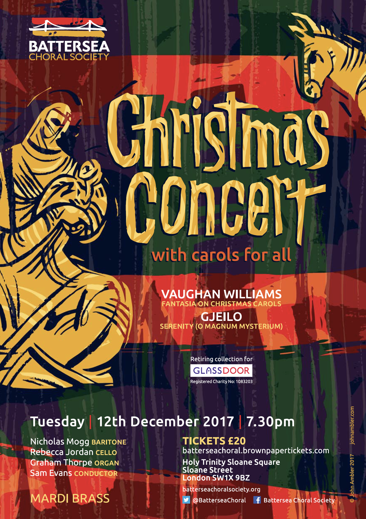 Battersea Choral Society Christmas Concert, Dec 2017
