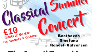 Classical Concert in aid of Glass Door