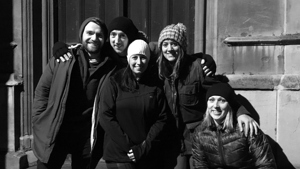 Raising IT stage a Sleep Out for Glass Door