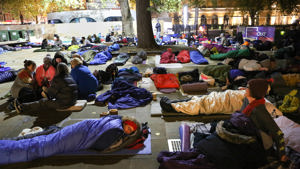 Hundreds Sleep Out at Duke of York Square to raise awareness and funds for homelessness