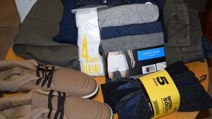 items we are happy to accept include shoes, jeans and underwear