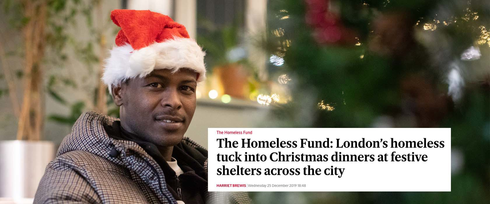 Press shines light on shelters at Christmas