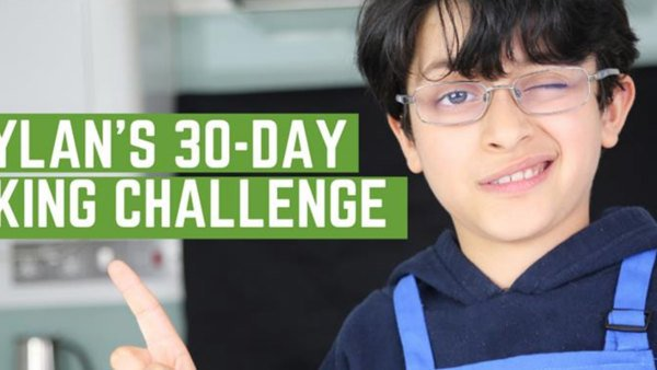 Fundraising spotlight: Dylan's 30-day cooking challenge