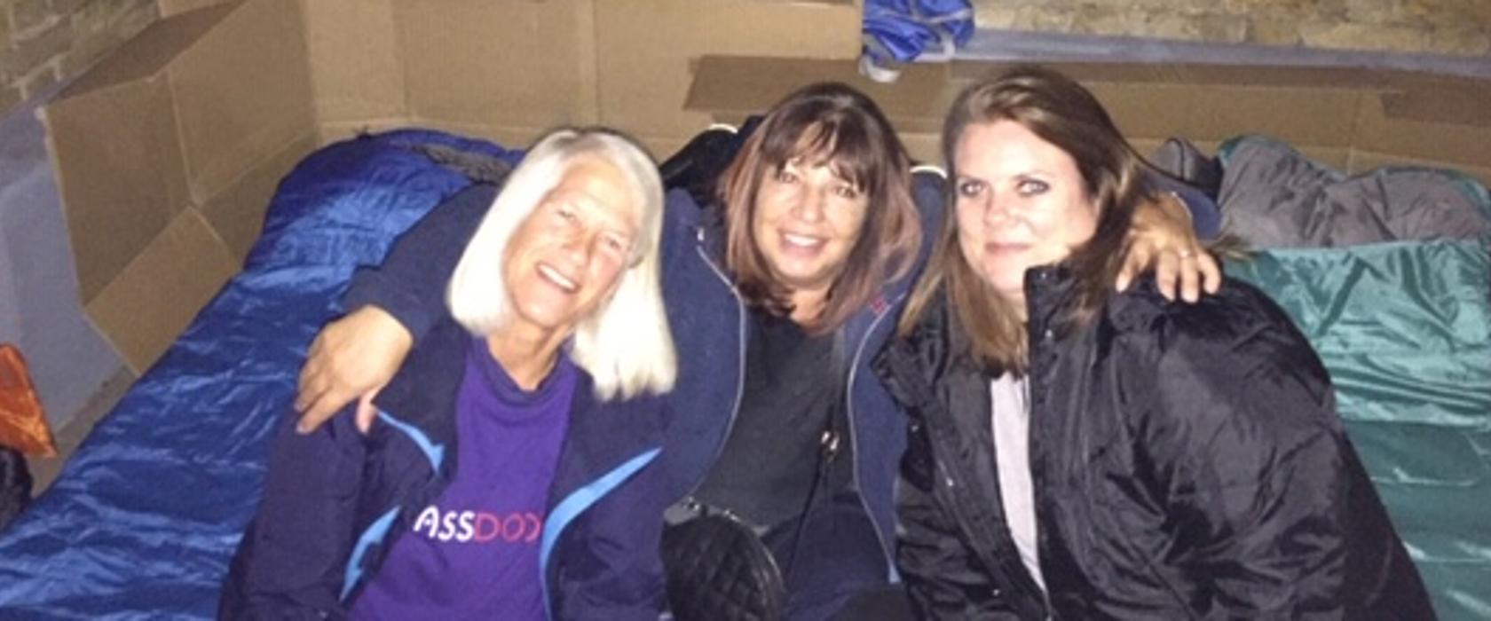 Dee Elias's Sleep Out (or in) fundraising page