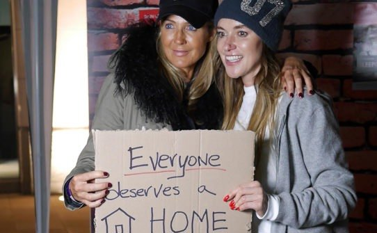 Sleep Out participants say Everyone Deserves a Home