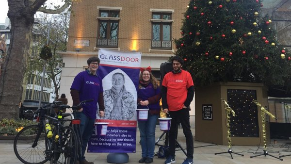 Our day fundraising for Glass Door