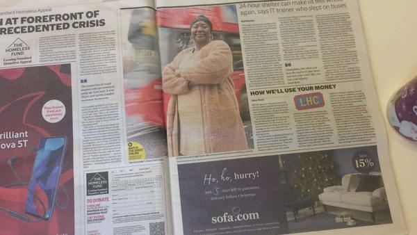 Evening Standard launches Help our Homeless campaign